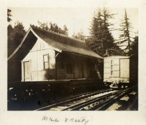 Image of North Shore Railroad Freight House, early 1900s                                                                                                                                                                                                            - Print, Photographic