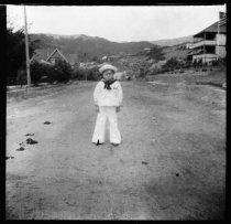 Image of Child on Buena Vista Avenue, circa 1907