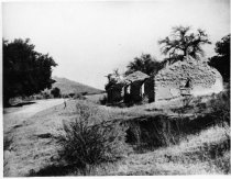 Image of Ruins of John Reed  house on Locke Lane, date unknown                                                                                                                                                                                                    - Print, Photographic