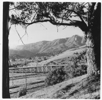 Image of Alto Overpass, seen from Enchanted Knolls, date unknown                                                                                                                                                                                                        - Print, Photographic