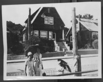 Image of Homes on Sunnyside Avenue, date unknown                                                                                                                                                                                                                        - Print, Photographic