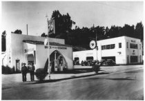 Image of Lenher Brothers' 76 Station, 1937                                                                                                                                                                                                                              - Print, Photographic