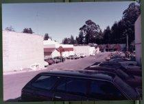 Image of Municipal parking lot, Throckmorton Avenue, circa 1980                                                                                                                                                                                                  - Print, Photographic