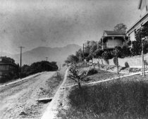 Image of Throckmorton Avenue above Josephine, date unknown                                                                                                                                                                                                              - Print, Photographic