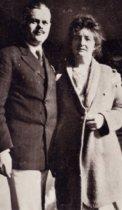 "Image of Kathleen and Charles ""Cigi"" Norris, 1915                                                                                                                                                                                                                   - Print, Photographic"