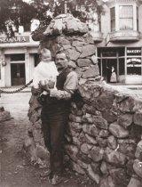 Image of Bernard Grethel and son, circa 1900                                                                                                                                                                                                                 - Print, Photographic