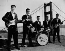 Image of A local rock group, the Kustom Keys, 1950s