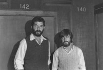 Image of Ben Myron and Don Taylor, circa late 1970s