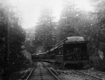 Image of Railroad car storage at Lee Street, 1905-1920                                                                                                                                                                                                              - Print, Photographic