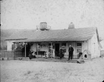 Image of The Homestead, aka Throckmorton Rancho, circa 1888                                                                                                                                                                                                             - Print, Photographic