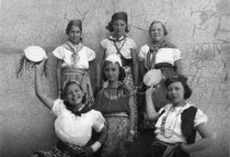 Image of Group photo from Miss Peterson's Dancing Class Recital, 1936                                                                                                                                                                                                   - Print, Photographic