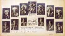 Image of Indian chief poster, date unknown                                                                                                                                                                                                                          - Print, Photographic