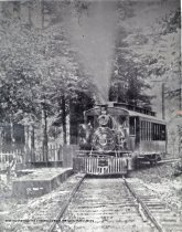 Image of A Porter #6, at Lee Street stop, 1905-1920                                                                                                                                                                                                               - Print, Photographic