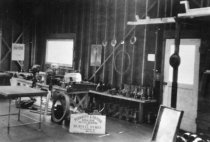 Image of Symes Plumbing Shop, 1927                                                                                                                                                                                                                                      - Print, Photographic