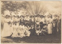 Image of Group of Women at Margaret House's Party, date unknown                                                                                                                                                                                                         - Print, Photographic