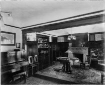 Image of 41 Buena Vista interior, date unknown - Print, Photographic