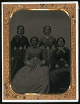 Image of Daughters of John Thomas Reed and Hilaria Sanchez Reed, date unknown                                                                                                                                                                                       - Print, Photographic