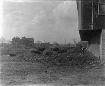 Image of Unidentified house, barn and cows, date unknown                                                                                                                                                                                                            - Print, Photographic