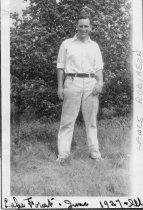 Image of Lance Robinson at Lake Forat, 1927 - Photograph