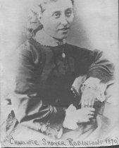 Image of Charlotte Shayer Robinson 1870                                                                                                                                                                                                                                 - Print, Photographic