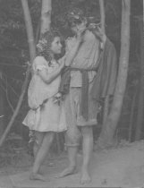 Image of Guinevere Zaun Robinson and Shayer (Lance) Robinson, date unknown - Photograph