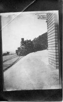 Image of Train at Tavern of Tamalpais, circa 1920 - Postcards