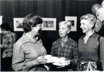 Image of Library volunteer party, 1983                                                                                                                                                                                                              - Print, Photographic