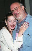 Image of Annette Haven and Wesley Emerson at a film screening at the Mill Valley Film Festival, 2000                                                                                                                                                                                         - Print, Photographic