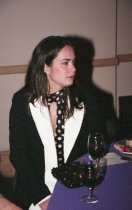 Image of Amber Ritchie at the Mill Valley Film Festival Closing Night Gala, 2000                                                                                                                                                                                                             - Print, Photographic