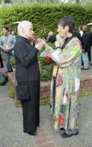 Image of Ann Brebner and Evelyn Topper at the Mill Valley Film Festival Opening Night VIP Reception, 2003                                                                                                                                                                                    - Print, Photographic