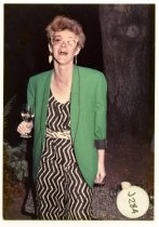 Image of Zoë Elton at the Mill Valley Film Festival, 1984                                                                                                                                                                                                               - Print, Photographic