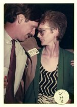 Image of Andrew McGuire and Zoë Elton, 1984                                                                                                                                                                                                                             - Print, Photographic