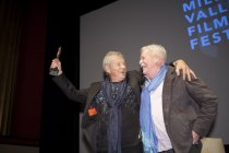 Image of Sir Ian McKellen and Armistead Maupin, 2015
