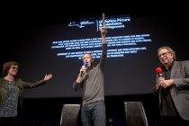 Image of Aaron Eckhart receiving an award, 2016                                                                                                                                                                                                                     - Image, Digital