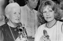 Image of Ann Brebner and Jeanne Moreau, 1982                                                                                                                                                                                                                        - Print, Photographic