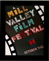 Image of 1989 poster from the Mill Valley Film Festival                                                                                                                                                                                                             - Mill Valley Film Festival Collection