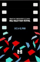Image of 1988 Poster from the Mill Valley Film Festival