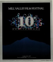 Image of 1987 poster from the Mill Valley Film Festival                                                                                                                                                                                                             - Mill Valley Film Festival Collection