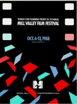 Image of 1988 poster from the Mill Valley Film Festival                                                                                                                                                                                                             - Mill Valley Film Festival Collection