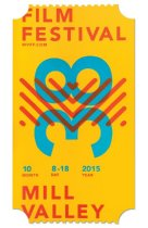Image of 2015 poster from the Mill Valley Film Festival                                                                                                                                                                                                             - Mill Valley Film Festival Collection