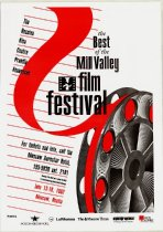Image of 1992 poster from the Mill Valley Film Festival selections in Russia                                                                                                                                                                                        - Mill Valley Film Festival Collection