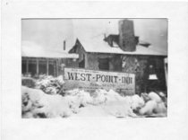 Image of The West Point Inn, winter of 1922.                                                                                                                                                                             - Print, Photographic