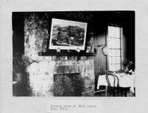 Image of Dining room at West Point Inn, 1908.                                                                                                                                                                             - Print, Photographic