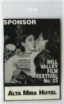 Image of Mill Valley Film Festival sponsor badge, 2000 - Mill Valley Film Festival Collection