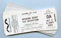 Image of Envelope of Mill Valley Film Festival Tickets, 2003 - Mill Valley Film Festival Collection