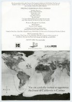 Image of Invitation for the Mill Valley Film Festival 20th Anniversary Celebration at the Cannes Film Festival, 1998 - Mill Valley Film Festival Collection