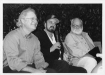 Image of Barry Levinson, James Toback, and Saul Zaentz, 1997                                                                                                                                                                                                            - Print, Photographic