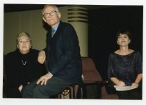 Image of Alan and Marilyn Bergman with Barbara Boxer, 2001                                                                                                                                                                                                              - Print, Photographic