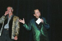 Image of Ben Fong-Torres at the Elvis Impersonation contest, 2001                                                                                                                                                                                                   - Print, Photographic