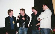 Image of Zoë Elton, Eddie Izzard, Marco Weber and Matt LeBlanc, 2001                                                                                                                                                                                               - Print, Photographic